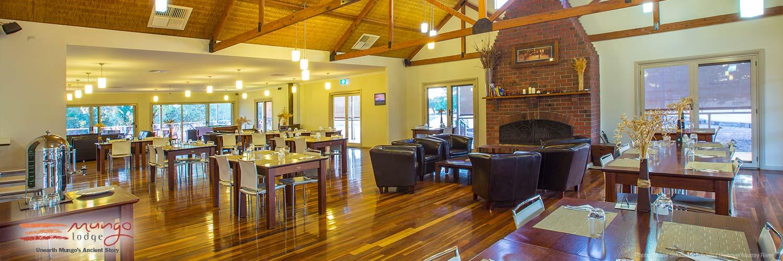 Mungo Lodge dining area